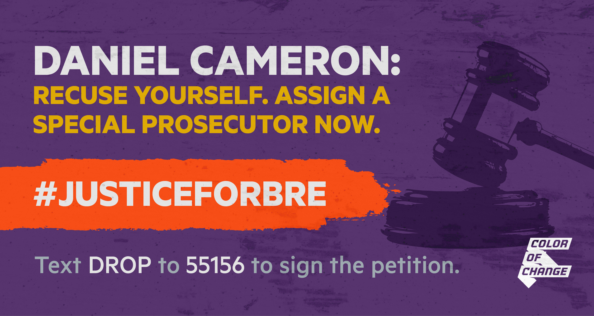 Tell Daniel Cameron to recuse himself and assign a special prosecutor.
