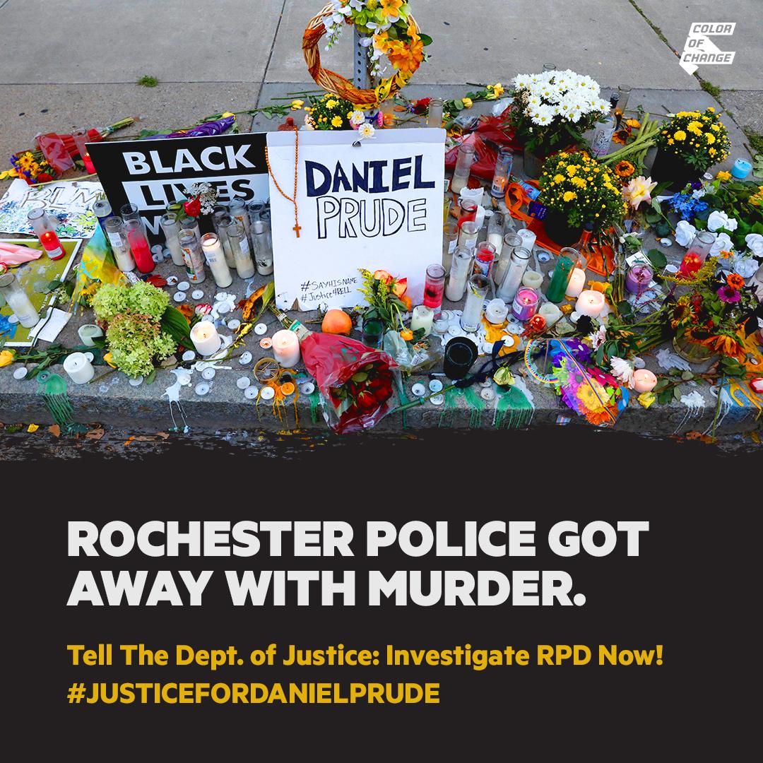 TAKE ACTION: Demand DOJ investigate Rochester Police