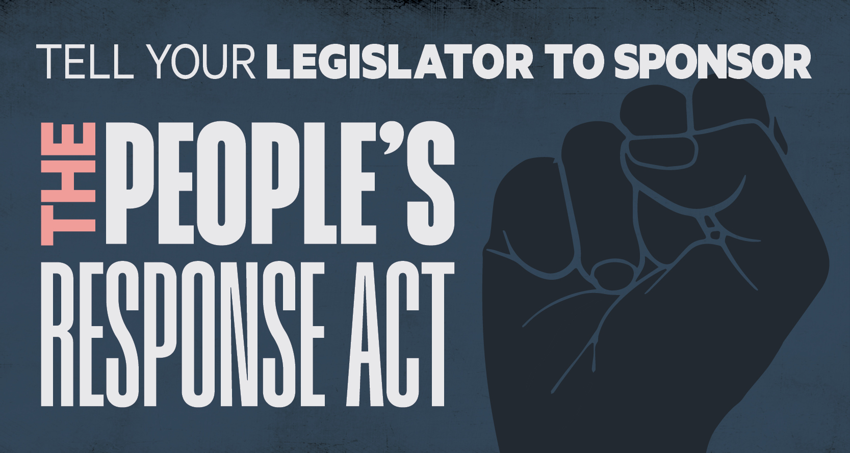 Public safety is a public health issue. Tell your Representative to cosponsor the People's Response Act!