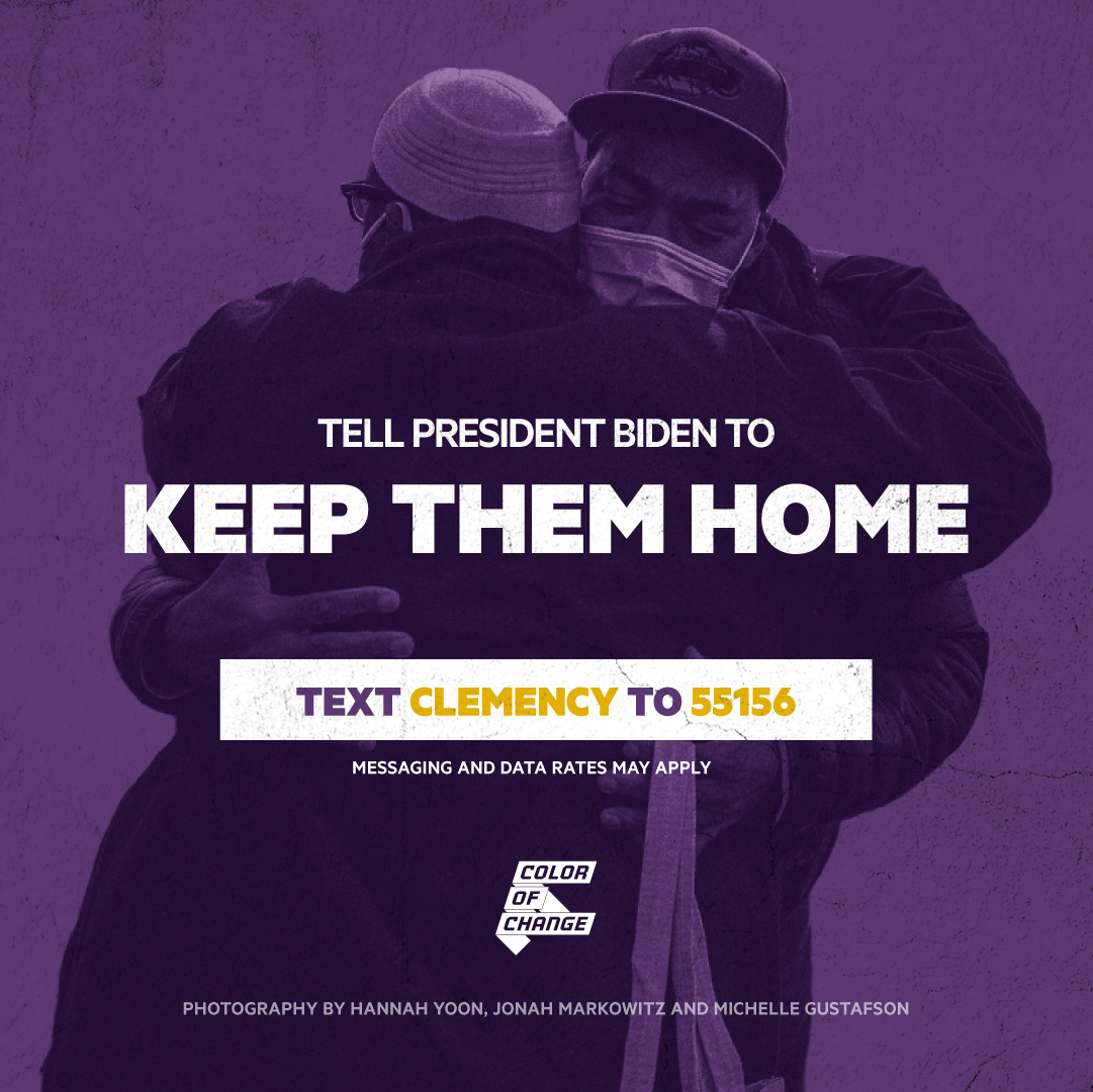 Join me in demanding clemency for thousands of elders at risk of being re-incarcerated!