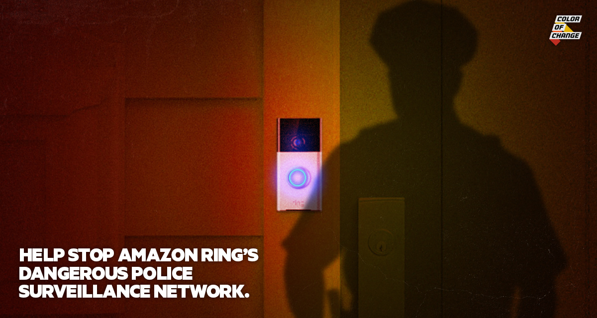 Tell your Mayor and City Council to end their police partnership with Amazon Ring!