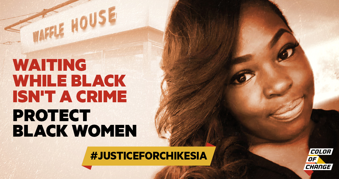 #Justice4Chikesia