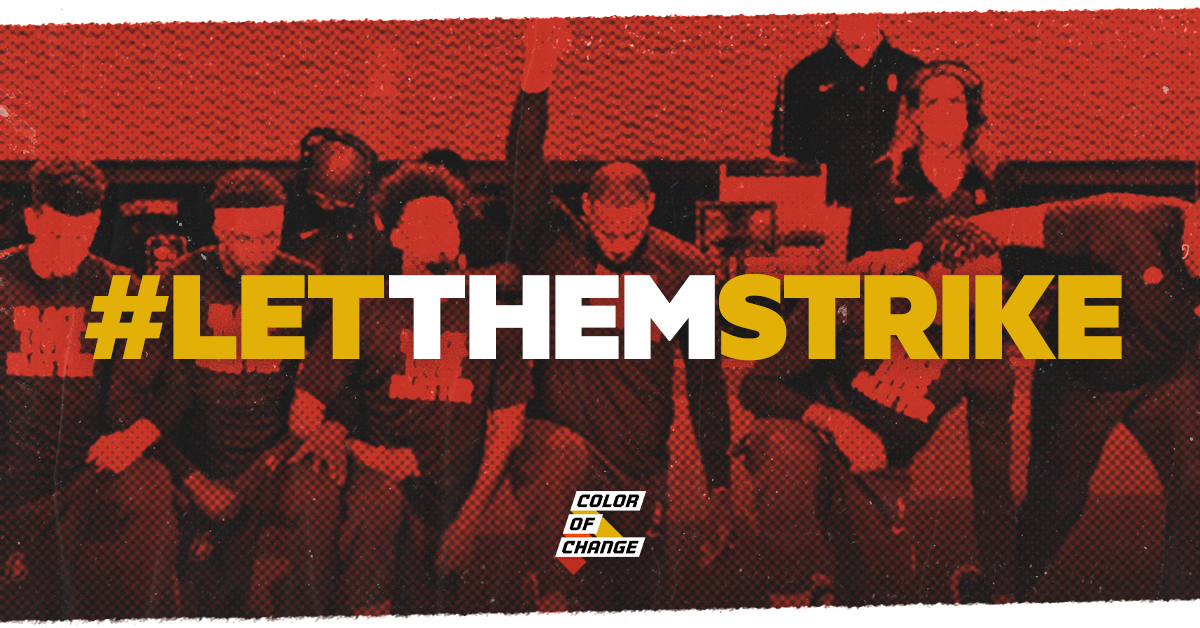 Tell the NBA team owners to #LetThemStrike