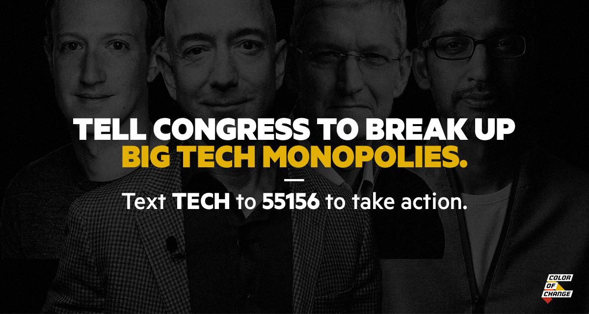 CEOs of Amazon, Apple, Facebook, and Google