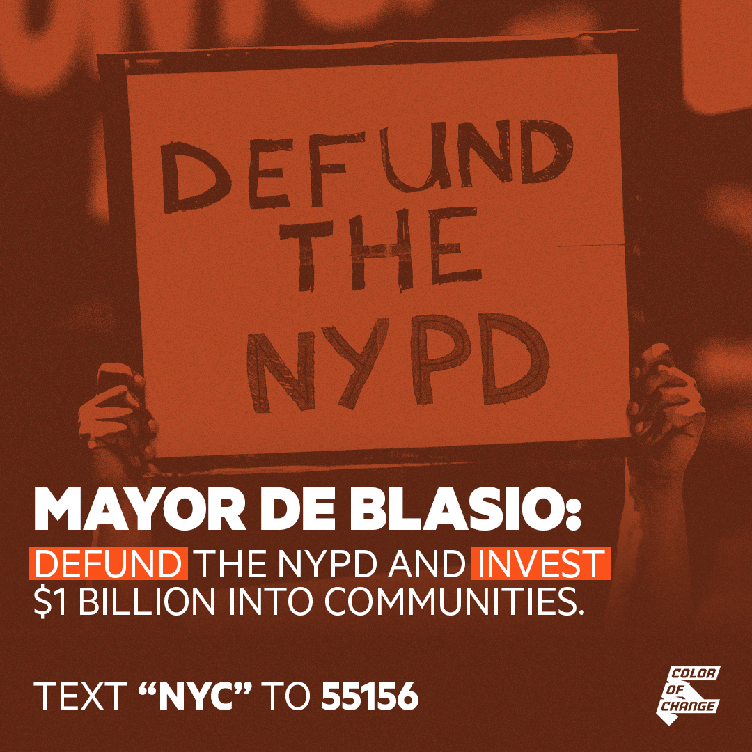 Defund NYPD. Invest in communities.