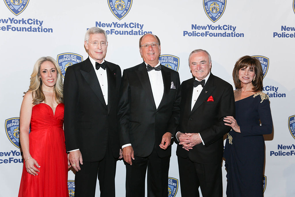 BlackRock CEO Larry Fink at New York City Police Foundation's 2015 Gala