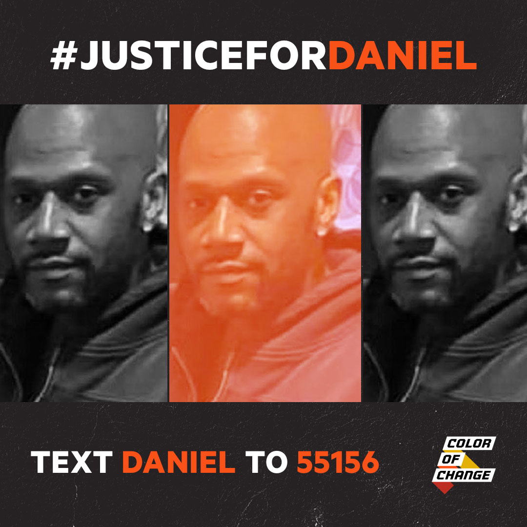 ADD YOUR NAME: Demand Justice For Daniel Prude -- Text DANIEL to 55156.