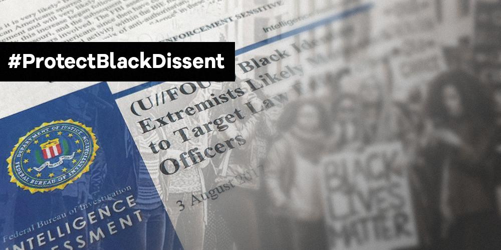 Digital violence against Black protestors must be stopped.