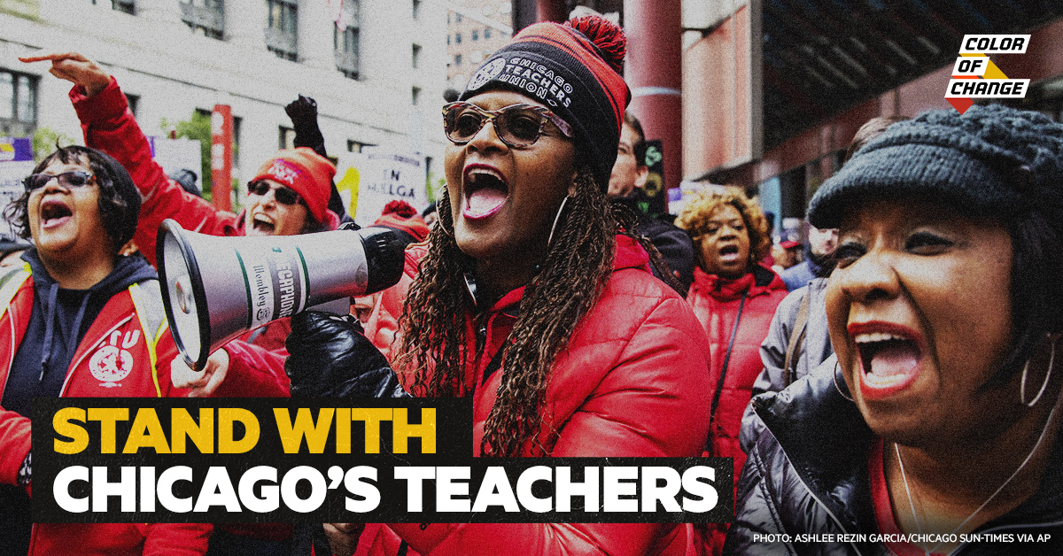 Stand in solidarity with Chicago's teachers and students!