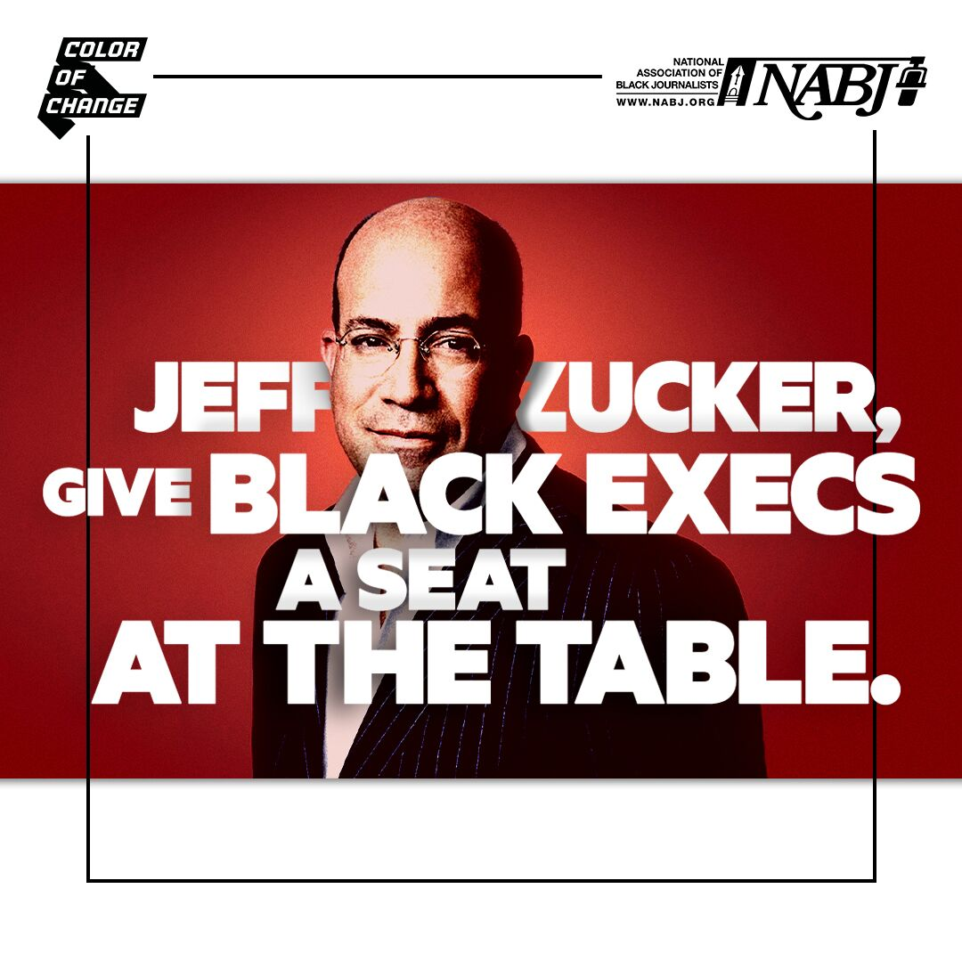 Jeff Zucker, give Black execs a seat at the table.