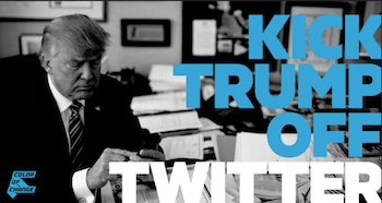 Trump is adamantly opposed to mail-in elections because it would increase voter participation, and he's being powered by Twitter to spread mass voter misinformation. It's time for Twitter to take a real stand for the well-being of the people that power its platform. Demand that Twitter's CEO Jack Dorsey finally ban Donald Trump from its platform!