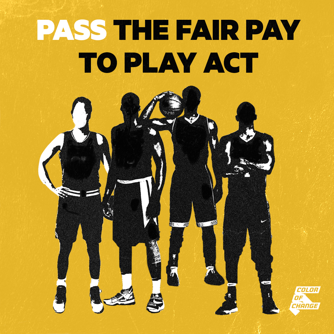 Tell the California Legislators to pass the Fair Pay to Play Act!