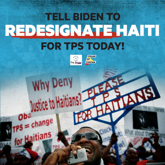 Haiti is facing a major crisis. Tell Biden to protect Haitian immigrants.